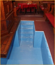 Church Baptistery Example