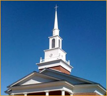 Example of a church steeple